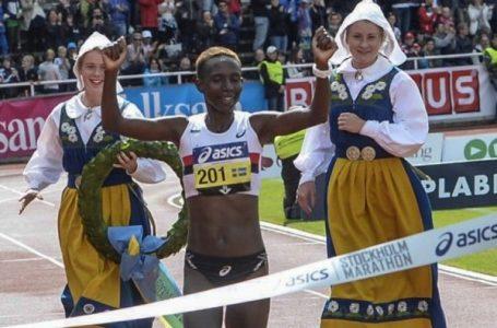 Isabellah Andersson une athlète suédoise spécialiste du fond et du marathon. AFP /TT NEWS AGENCY/ MAJA SUSLIN /SWEDEN OUT