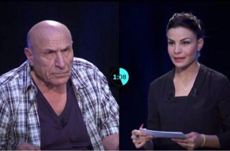 Rachid Boudjedra dans un entretien accordé à la chaîne privée Echourouk TV